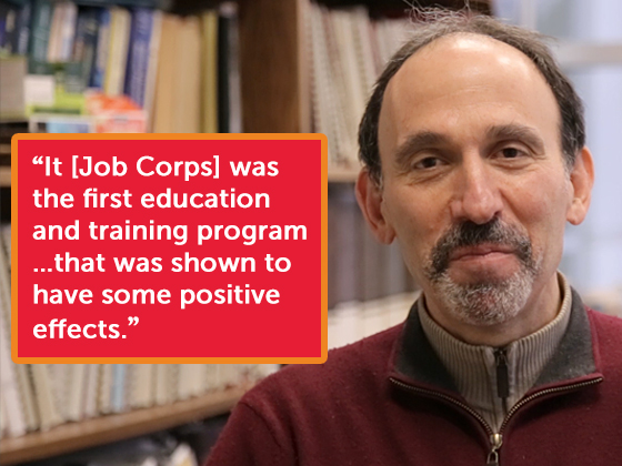 Peter Schochet - The National Job Corps Study