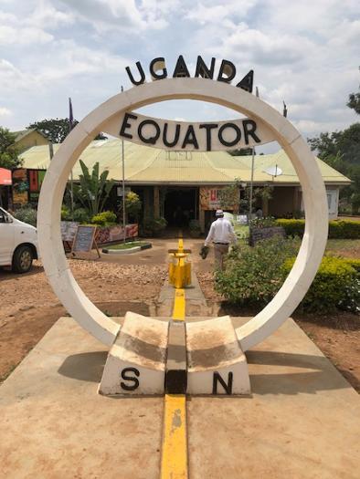 Uganda Equator Border
