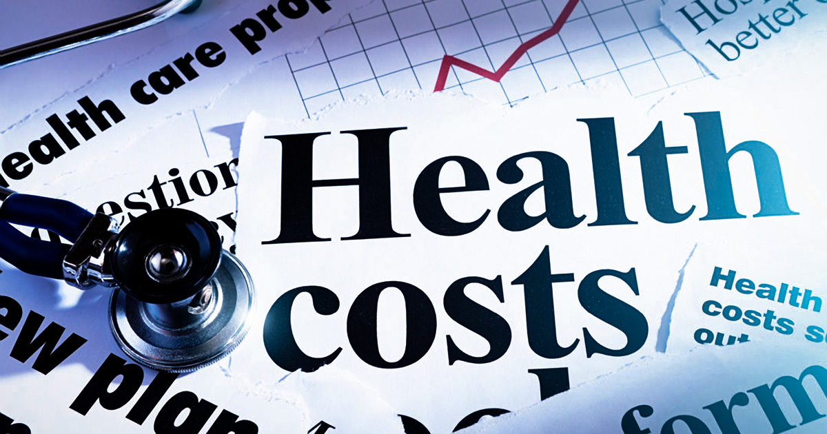 Health costs image for blog post