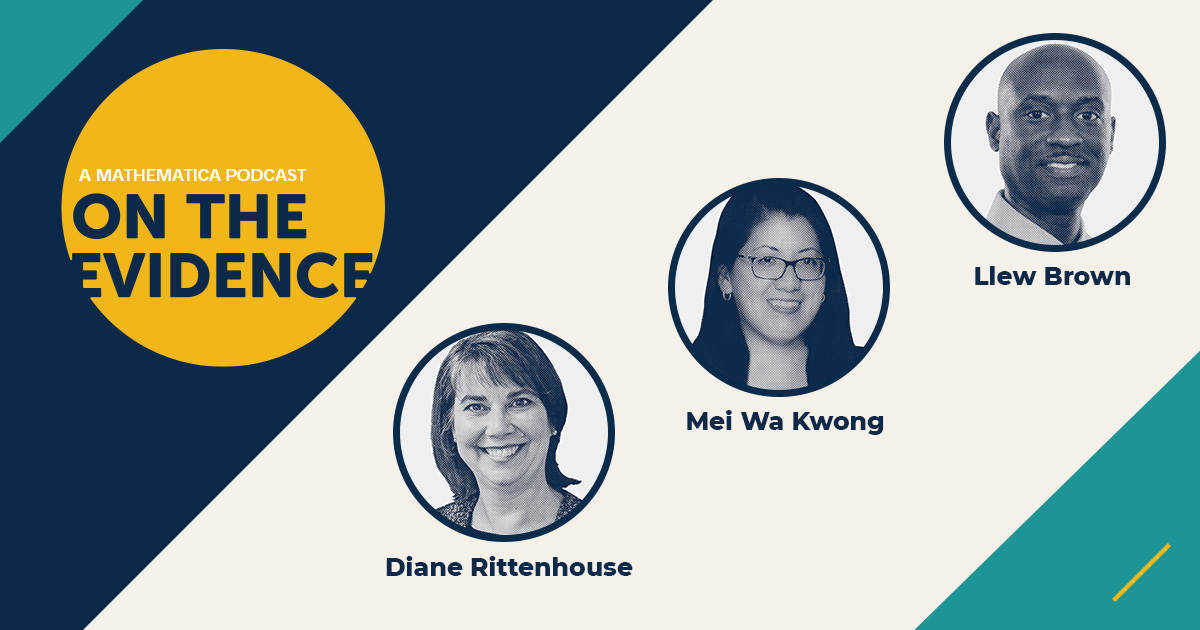 A Mathematica Podcast: On the Evidence. Diane Rittenhouse, Mei Wa Kwong, and Llew Brown.
