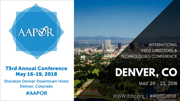 AAPOR and IFD&TC Annual Conferences