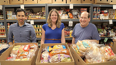 chicago volunteers lakeview food pantry