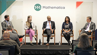 Video still shot from July 11 forum on becoming data driven