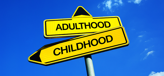 Adulthood childhood sign