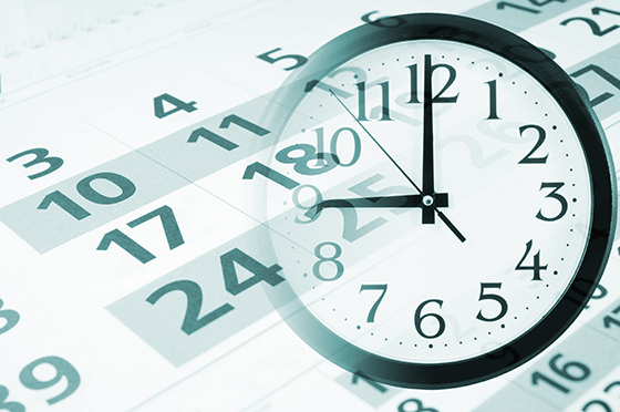 Calendar and Time image