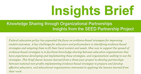 Knowledge Sharing Insights Brief