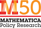 Mathematica Policy Research 50th anniversary logo