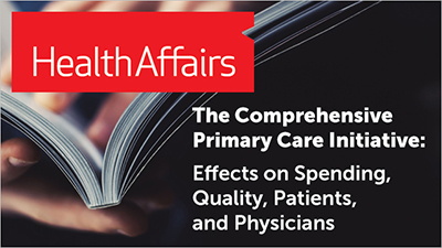The Comprehensive Primary Care Initiative: Effects on Spending, Quality, Patients, and Physicians