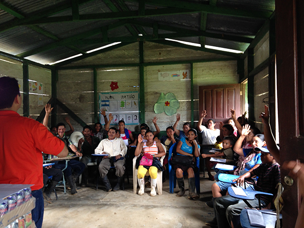 Community Action for Reading and Security (CARS) in Nicaragua