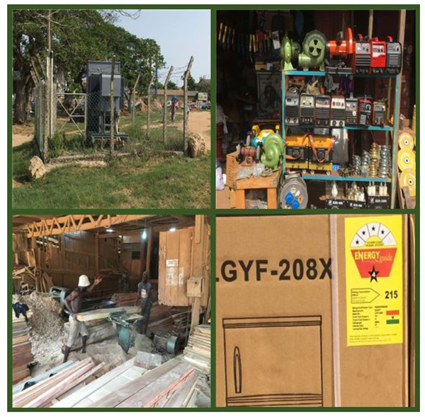 Ghana Photo Collage