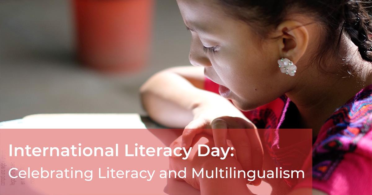 Celebrating International Literacy Day 2019