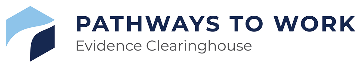 Pathways to Work Evidence Clearinghouse