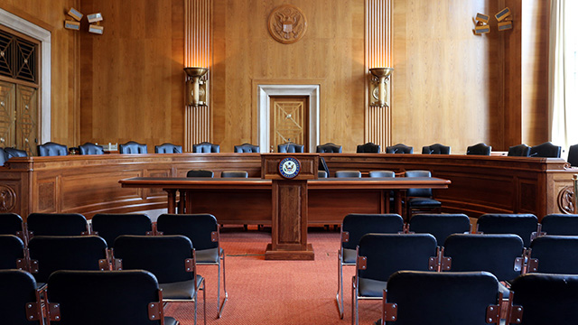 U.S. Senate Committee Hearing Room