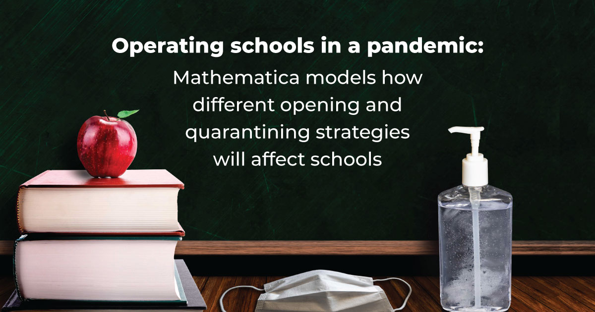 Operating schools in a pandemic: Mathematica models how different opening and quarantining strategies will affect schools