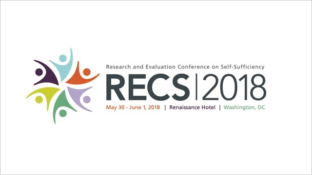 Several Mathematica experts will present at the 2018 Research and Evaluation Conference on Self-Sufficiency (RECS)