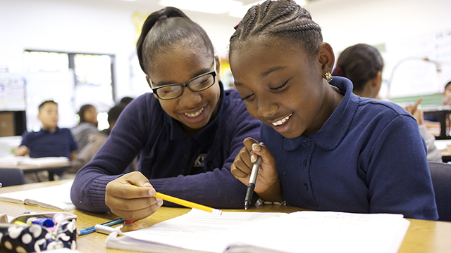 School Girls in the KIPP Middle School Program