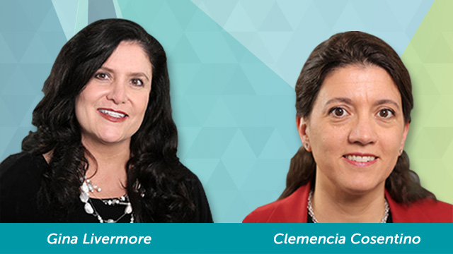 New Senior Fellows Gina Livermore and Clemencia Cosentino, 2018