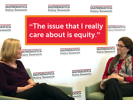 Interview with Clemencia Cosentino - The Issue that I really care about is equity