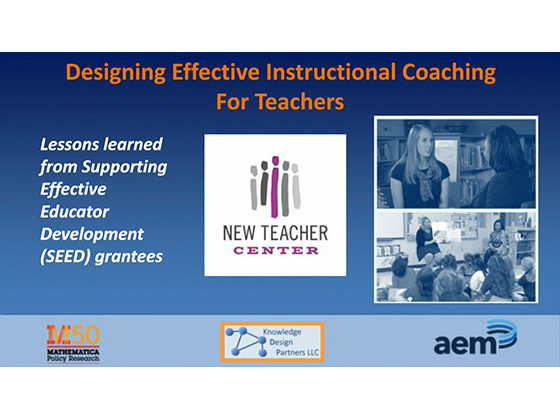 Designing Effective Instructional Coaching for Teachers