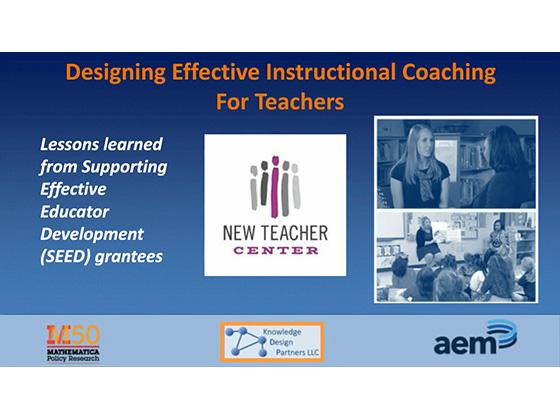 designing effective instructional coaching for teachers